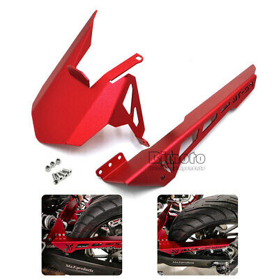 For Yamaha MT07 13-17 FZ07 15-17 Rear Tire Fender Mudguards Chain Guard Cover