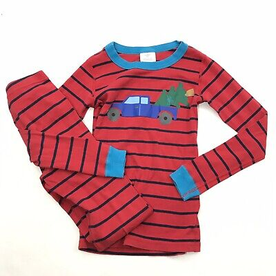 Organic Cotton Buy Now 100 Cm Hannah Andersson Christmas Trees Pajama Top Size 4