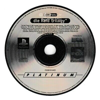 DIE HARD TRILOGY (PLATINUM RANGE) (PS1 Game) Playstation D