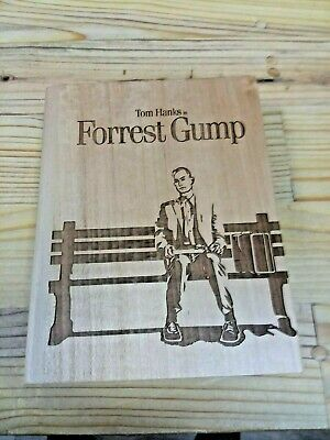 Forrest Gump PREMIUM EDITION from UHD CLUB , REAL WOOD CASING ! LOTS OF GIFTS !