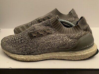 9b0d50e88 MSRP  180 Adidas Ultra Boost Uncaged Clear Grey Runner PrimeKnit BB3898 size  11