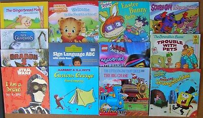 Lot Of 13 Orted Children S Books Rugrats Sesame Street Star Wars Lego