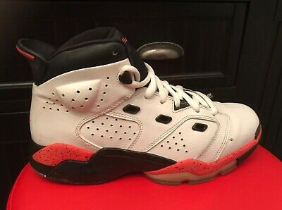3a59e8242cb962 Nike JORDAN 6-17-23 White Infrared 23 Retro Basketball Shoes 7 youth 428818
