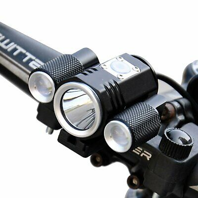 Bike Bicycle Cycling Front Head Light Ultra Bright Torch Lamp Black CREE T6 LED