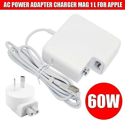 60W AC Power Adapter charger Mag 1 L for Apple Mac Macbook Pro 13 A1184 A1344 AU