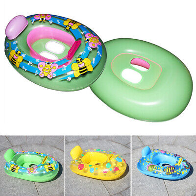 Baby Float Boat Infant Inflatable Swimming Aid Trainer Seat Ring 2-5years Old UK