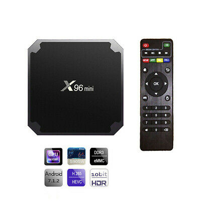 Nuevo X96 MINI Android 7.1 Smart TV caja BOX 4K WIFI HDMI X96MINI