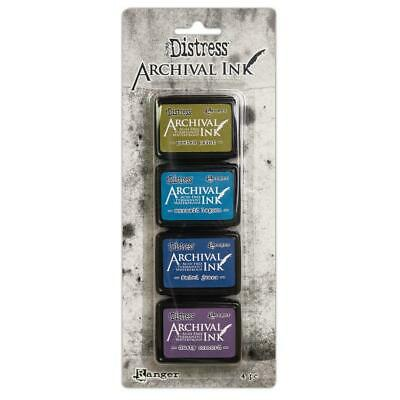 Tim Holtz Distress Archival Mini Ink Pads - Set 2 - NEW!