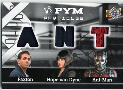 2015 Marvel Ant-Man Pym Particles Triple Costume PT3-PHA; Paxton, Hope & Antman