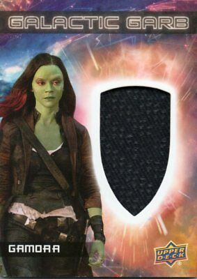 2017 Guardians of the Galaxy Vol. 2; Galactic Garb Costume Relic SM10 Gamora