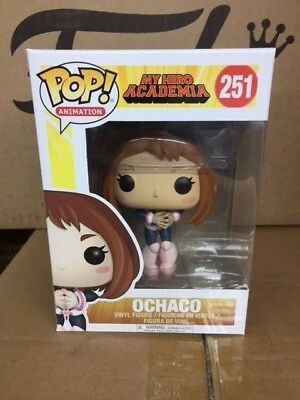 "FUNKO POP! Animation Anime My Hero Academia MHA ""Ochaco""  Vinyl Figure"