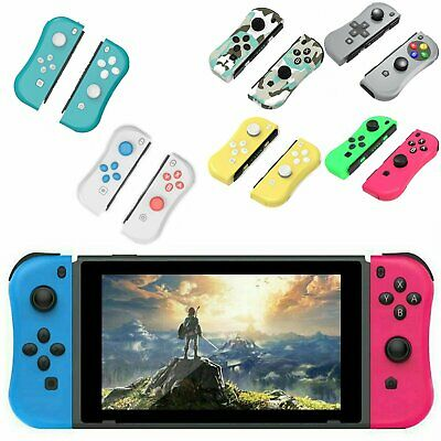 Left & Right Joy-Con Comfort Grip Game Controllers for Nintendo Switch Console