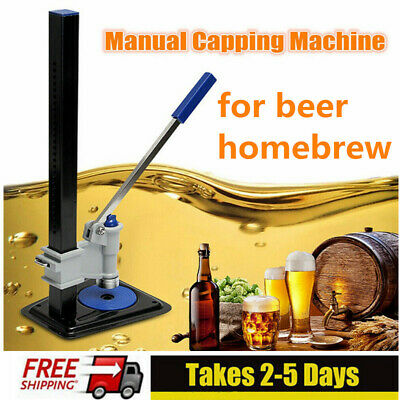 Manual Beer Capping Machine Beer Cap Soda Sealing Glass Bottle Capper AU STOCK