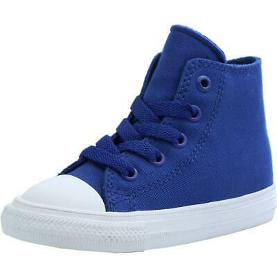 0c49c1a9bf49 Converse Chuck Taylor All Star II Hi Sodalite Blue Textile Baby Trainers