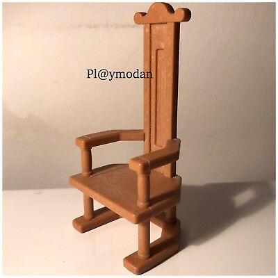 Playmobil SPECIAL Chaise Moyen Age Chateau 3294 Collector 1977 By PLymoDan