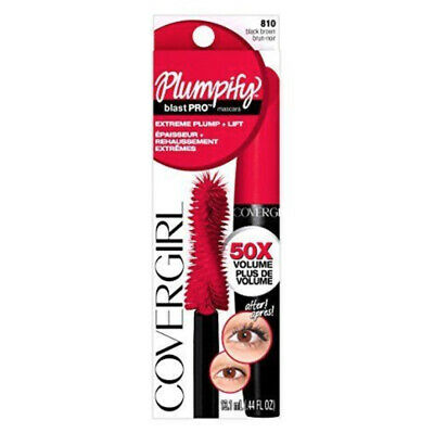 Covergirl Plumpify Blast Pro Extreme Plump + Lift Mascara 810 Black Brown