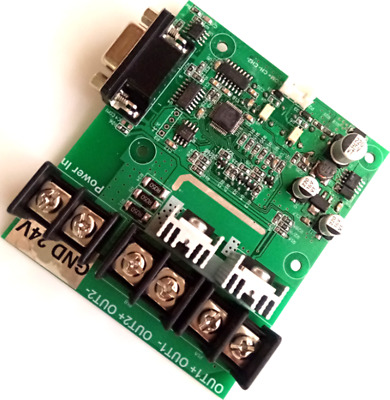 Digital Control Board 2 Channel RS232 PWM Dimming 256 Level For Machine Light