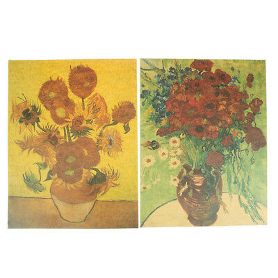 Van Gogh Famous Artist Art Print Poster Delicate Wall Picture Canvas Painting IA