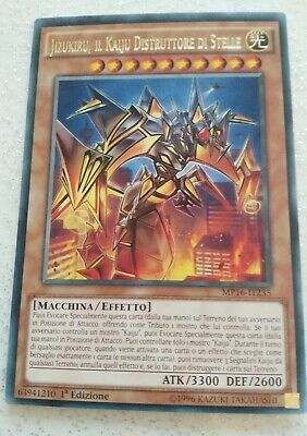 Yu-Gi-Oh Jizukiru il Kaiju Distruttore di Stelle MP16-IT235Rara ITA Destroying