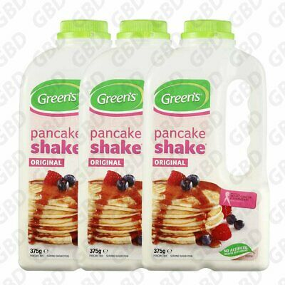 Greens Pancake Mix Original Shake 3 x 375g
