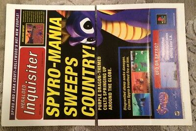 SPYRO THE DRAGON XBOX VIDEO GAME GIANT ART PRINT PANEL POSTER NOR0048