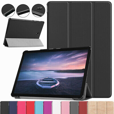 For Samsung Galaxy Tab A 10.5 SM-T590 T595 Magnetic Rugged Leather Smart Case