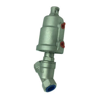 304 Stainless Steel Pneumatic Angle Seat Valve