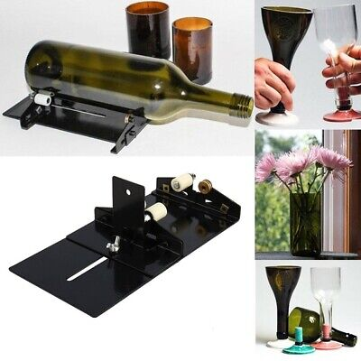 NEW Glass Bottle Cutter Kit Craft glass cutting machine tool for jar recycle DIY