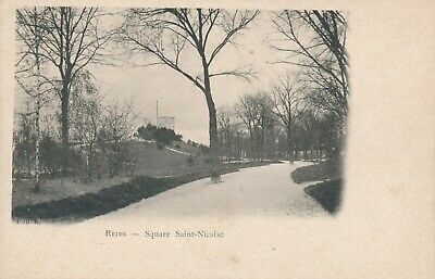 CPA - France - (51) Marne - Reims - Square Saint-Nicaise