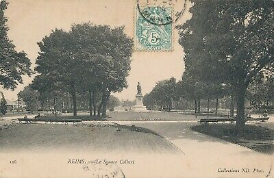 CPA - France - (51) Marne - Reims - Le Square Colbert