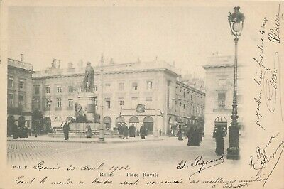 CPA - France - (51) Marne - Reims - Place Royale