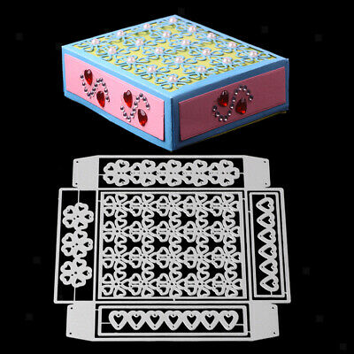 Metal Cutting Dies 3D Gift Box Candy Box DIY Paper Decor Scrapbooking Crafts