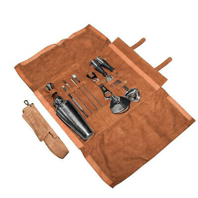 NEW Uber Bar Tools Leatherette Lux Roll 13pce