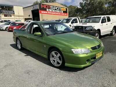 2003 Holden Ute VY Storm Green Automatic 4sp A Utility