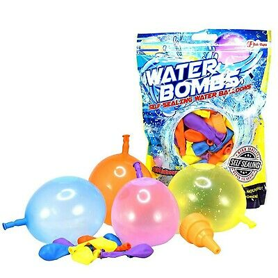 Kid's Summer Toys - Water Balloon/Bombs - Self Sealing - Pack of 100