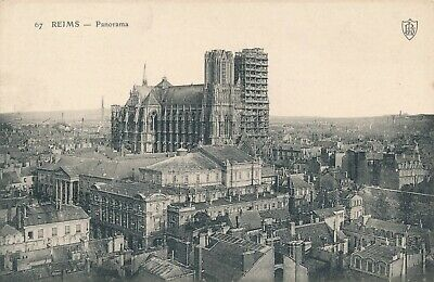 CPA - France - (51) Marne - Reims - Panorama