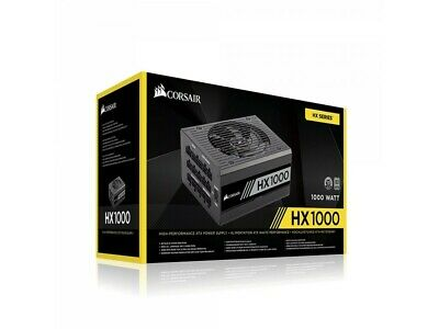 1000w Corsair HX1000 80 Plus Platinum Power Supply PN CP-9020139-AU modular psu
