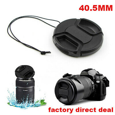40.5mm Front Lens Cap Hood Cover Snap-on for Canon Sony Olympus Nikon Camera UK