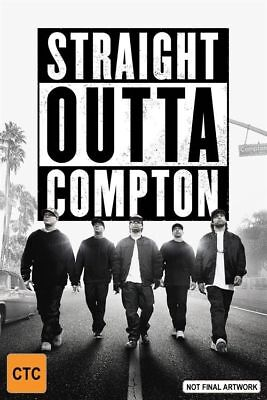 Straight Outta Compton (Blu-ray,) - FREE POST