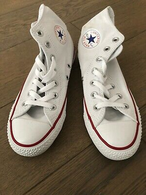 Converse Unisex Chuck Taylor White All Star Hi Lo Tops Size 4 Trainers