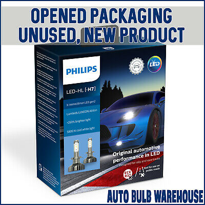 Philips X-tremeUltinon gen2 LED Car Bulbs H7 x2 (Opened Pack, New Condition)