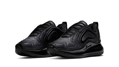 Nike Air Max 720 Unisex Trainers, Uk10 Total Eclipse Black/Anthracite, Ao2924004