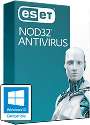 ESET NOD32 Antivirus 2020 Version 13 Global Key - 1/2/3 Year 1Device Email Deliv