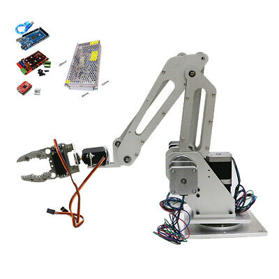 3 Axis Assembled Robot Mechanical Arm Claw Gripper Servo Controller Kit