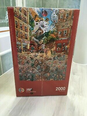 Heye Loup Space Crash Puzzle 2000 Pieces Brand New But Unsealed Puzzles