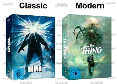 The Thing Blu-Ray Deluxe Limited Edition [Germany]