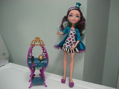 EVER AFTER HIGH MADELINE HATTER GETTING FAIREST DOLL REPLACEMENT COMPACT MIRROR