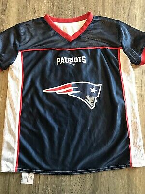 NFL New England Patriots Reversible Flag Football Play 60 Youth Jersey Size  M d250be3bd