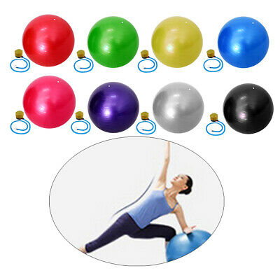 55cm Anti Burst Yoga Exercise GYM Pregnancy Swiss Fitness PVC Ball with Pump