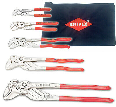 KNIPEX 8603000-X Ulitmate Pliers Wrench Set